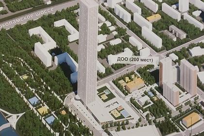 Москвичи возмутились строительством очередного небоскреба