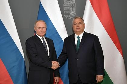 Путин пригласил Венгрию участвовать в «Турецком потоке»