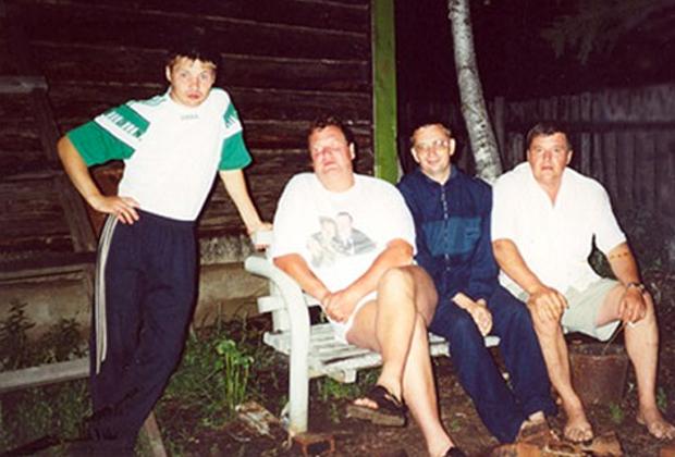 Слева направо: Владислав Телкин и Константин Ключевский