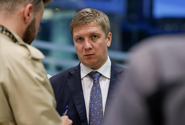 Глава компании «Нафтогаз» Андрей Коболев
