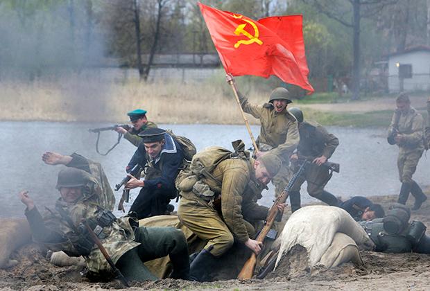 Историческая реконструкция событий Великой Отечественной войны. 2009 год