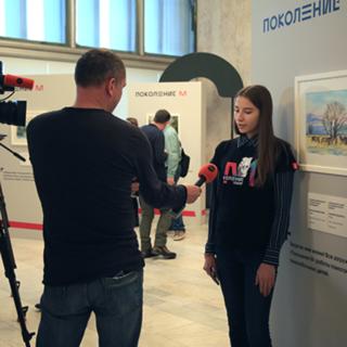 Победительница проекта «Поколения М» Анастасия Депутатова