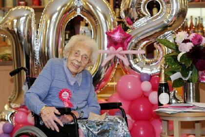 Шампанское помогло женщине дожить до 108 лет
