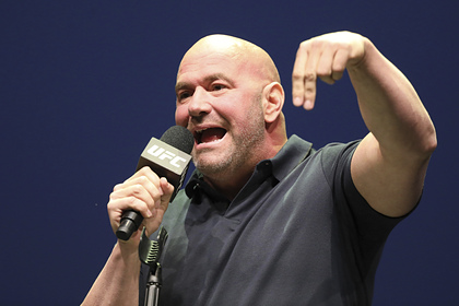 Глава UFC представил пояс для «главного негодяя» организации