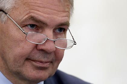 Министр иностранных дел Финляндской Республики Пекка Хаависто