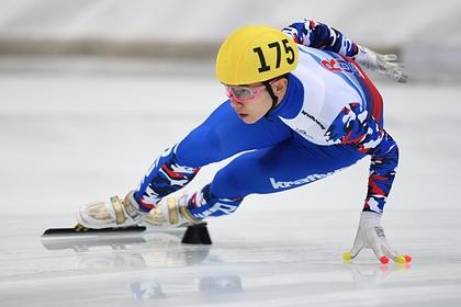 Виктор Ан завоевал серебро на Кубке мира по шорт-треку