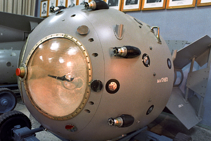 Рассекречены документы о ядерном оружии СССР