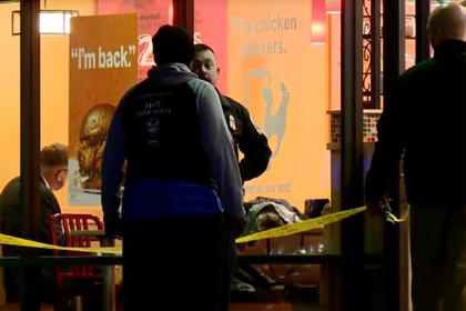 Мужчина погиб в битве за бургер