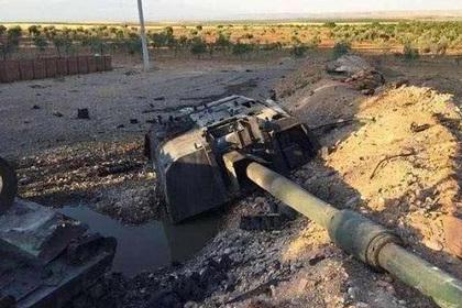 Советский комплекс «Метис» снес башню турецкому Т-155 Firtina
