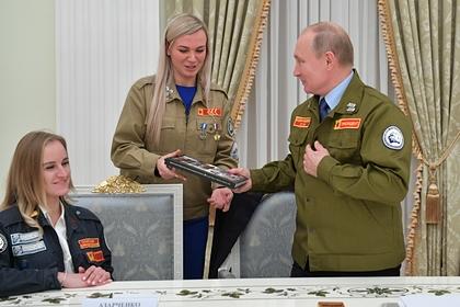 Путин пошутил про награды Брежнева