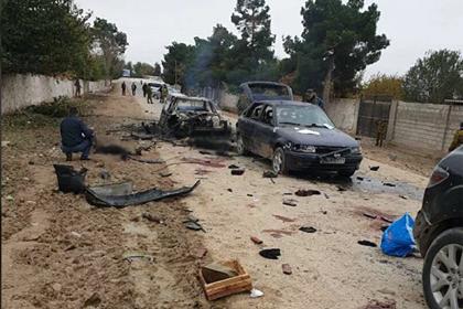 Появились кадры с места атаки боевиков на погранзаставу в Таджикистане