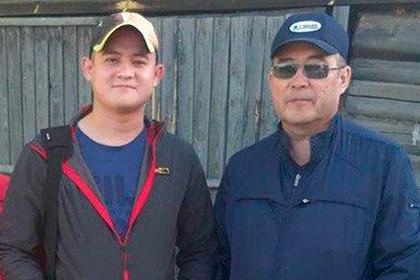 Рамиль Шамсутдинов  с отцом