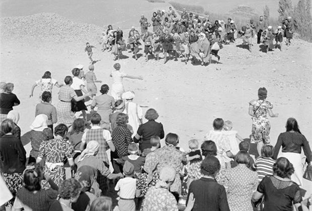 Эвакуация польских беженцев из СССР в Иран в ноябре 1942 года