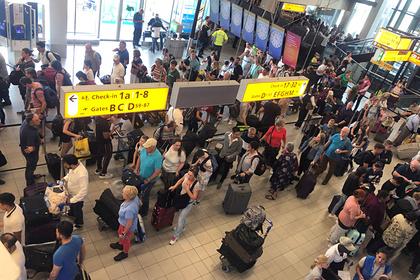 Чрезвычайную ситуацию объявили в аэропорту Амстердама