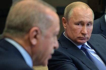 Эрдоган обсудит с Путиным Сирию