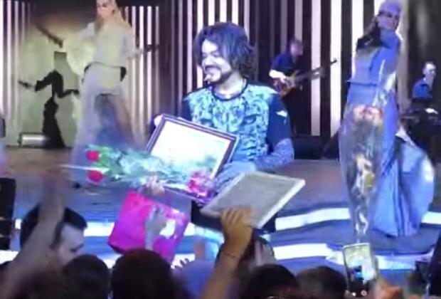 Филипп Киркоров на шоу «Я» в Махачкале. 6 июля 2017 года