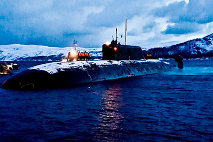 Российские атомные подлодки провели торпедную дуэль