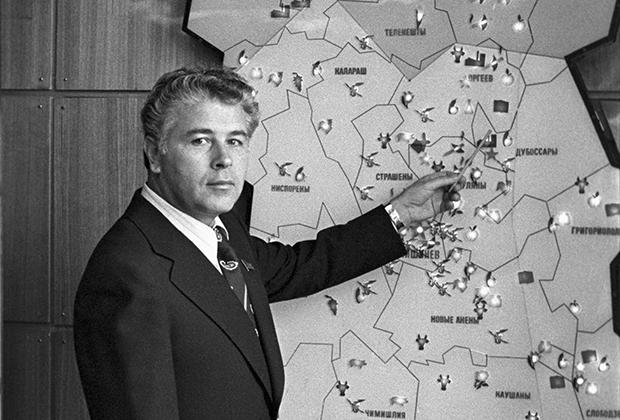 Первый секретарь ЦК Молдавии Семен Гроссу, 1981 год