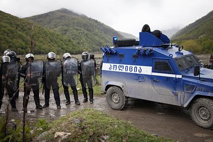 Южная Осетия заявила о перестрелке грузинской полиции с жителями села