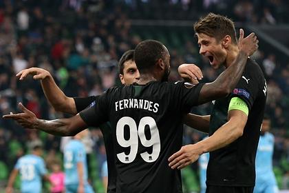 «Краснодар» выиграл второй матч подряд в Лиге Европы