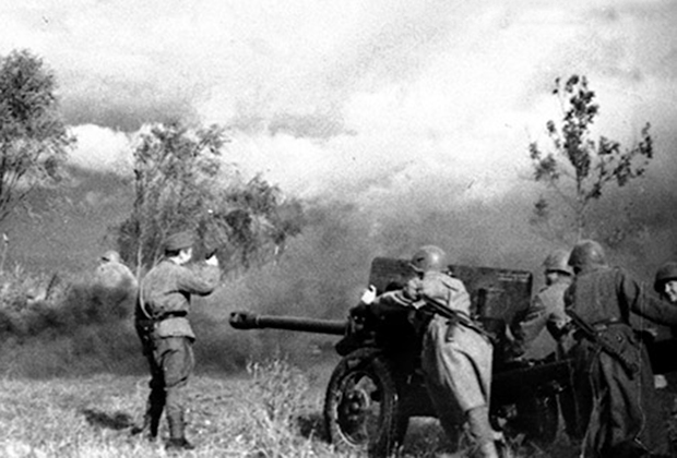 Бои на острове Муху. Советские позиции