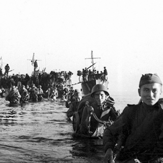 Высадка десанта на остров Сааремаа