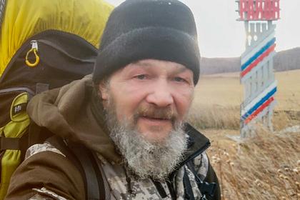 54-летний россиянин полтора года шел пешком к своему знакомому
