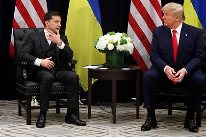 Трамп рассказал о неизвестном разговоре с Зеленским