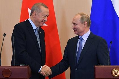 Путин и Эрдоган созвонились