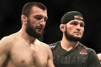 Нурмагомедов обратился к задушенному на турнире UFC брату