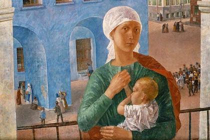 Третьяковская галерея объяснила россиянкам правила кормления грудью