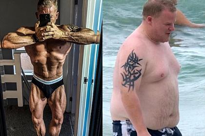 Страдающий ожирением фотограф похудел на 51 килограмм и стал культуристом