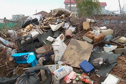 Российский город заполонил мусор