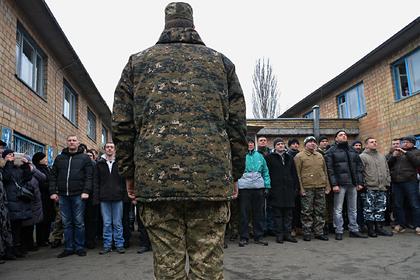На Украине задумались об отмене призыва в армию