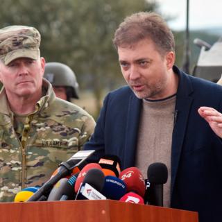 Андрей Загороднюк (справа)