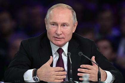 Путин назвал самострелами непривитых от гриппа министров
