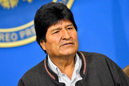 Россия сочла госпереворотом отставку президента Боливии
