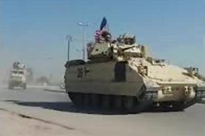 Таинственные перемещения американских войск в Сирии попали на видео