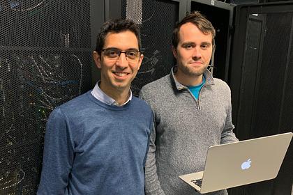 Professor Max Garcia-Melchor and Ph.D. Candidate, Michael Craig