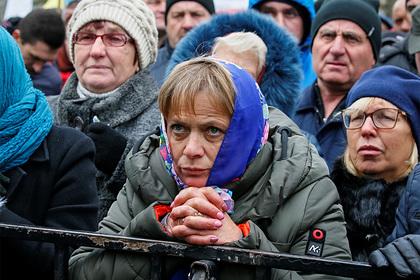 Украинцы разочаровались в новой власти