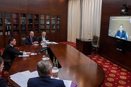 Воробьев обсудил реализацию нацпроектов