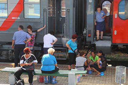 В Крым задумали пустить еще один поезд