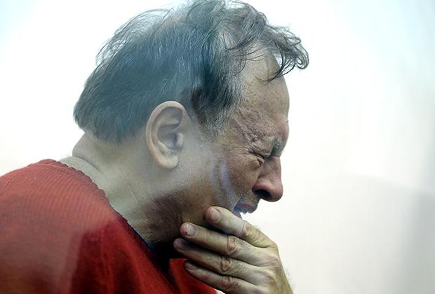 Олег Соколов в зале суда