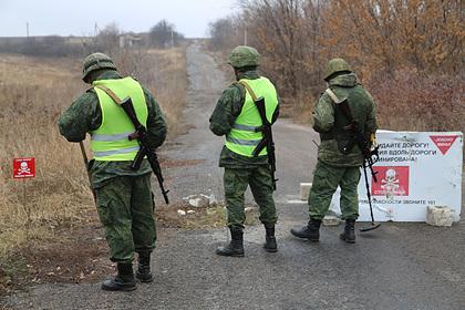В ДНР приготовились к появлению украинских силовиков