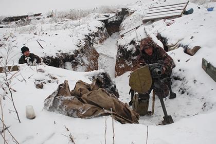 Ополчение Донбасса обвинили в применении запрещенного оружия