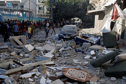 Взрыв у посольства в Дамаске связали с палестинскими джихадистами