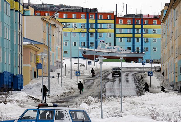 Анадырь, административный центр Чукотского автономного округа