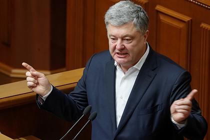 Порошенко обвинили в краже 34 миллионов гривен у армии