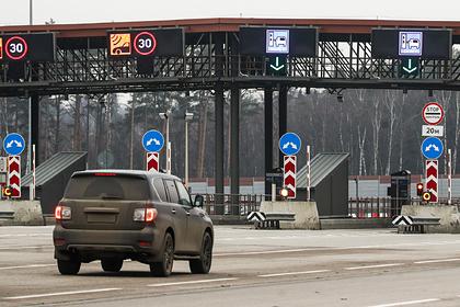 ЦКАД оснастят системой безбарьерной оплаты проезда