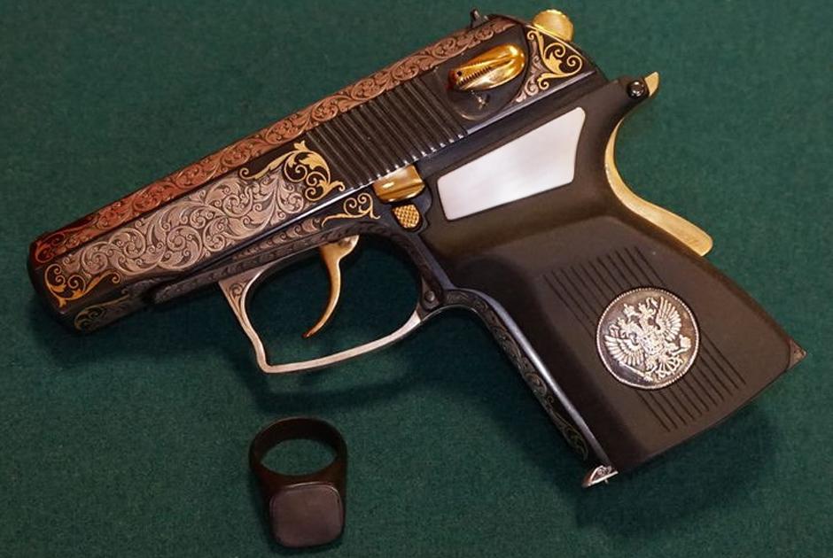 МР-447 «Пистолет с идентификацией владельца оружия» (ПИВО)